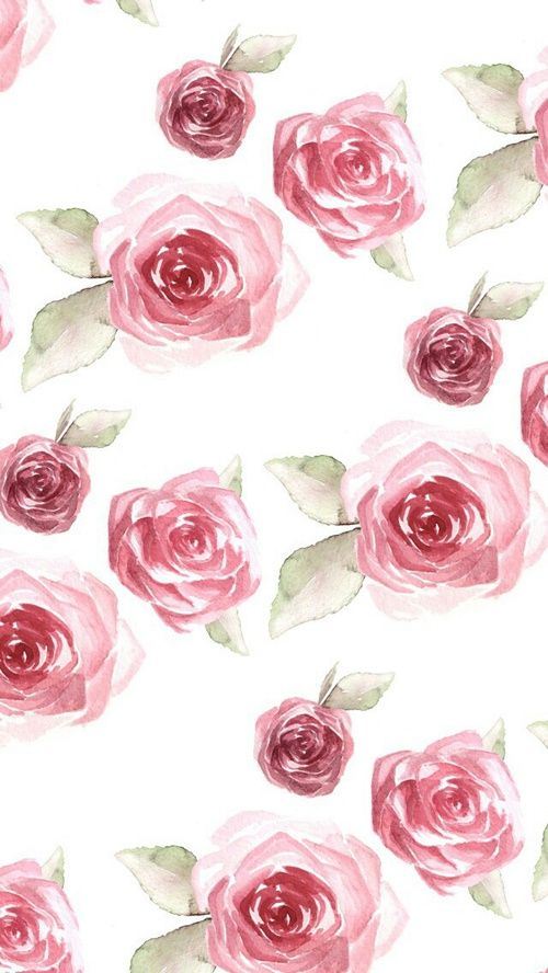 Rose Flowers And Wallpaper Image Cellphone Wallpaper Iphone Wallpaper Pattern Wallpaper