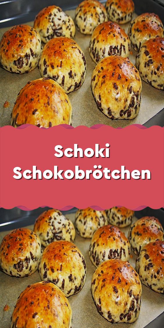 Schoki Schokobrötchen #kuchenkekse