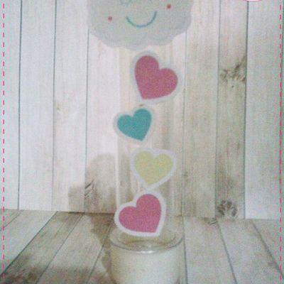 Anna Design - Tubete chuva de amor & bênção menina 01 - em scrap
