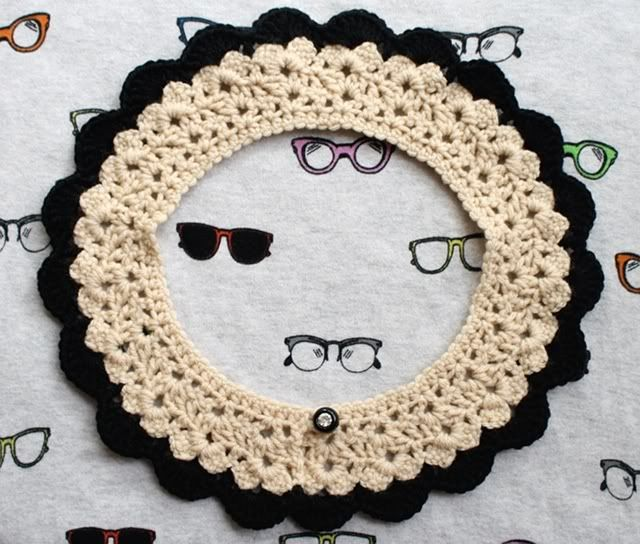 una chica tímida: Collar Crochet Obsesionado! | CROCHET | Pinterest