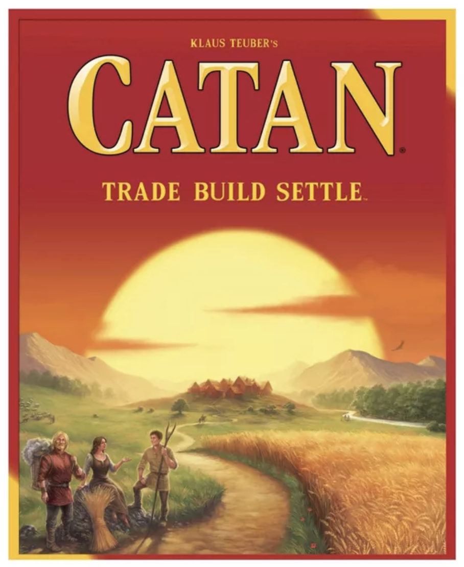 five christmas suggestions... | Miss Mustard Seed in 2020 | Catan board game,  Settlers of catan, Catan board