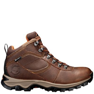 be3e749cafa5 Make footprints in Timberland s Mt. Maddsen waterproof hiking boots. These  men s leather hikers take on any terrain.