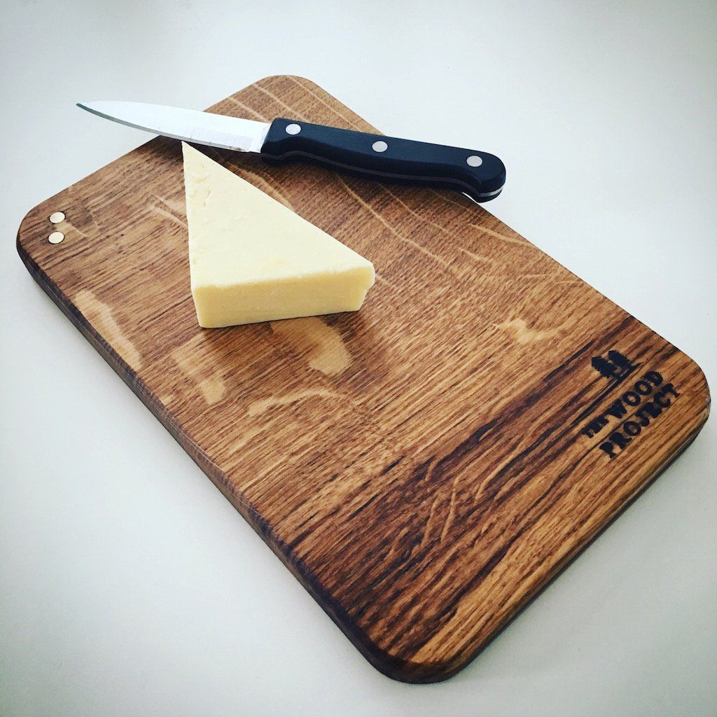 Brass And Oak Small Chopping Board Wood Projects Serving Board