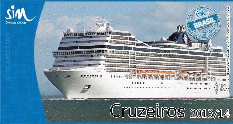 Que tal se programar para uma viagem de navio?!   Confira nossos pacotes para o fim de ano na costa brasileira: http://www.simlazer.com/brasil/maritimos