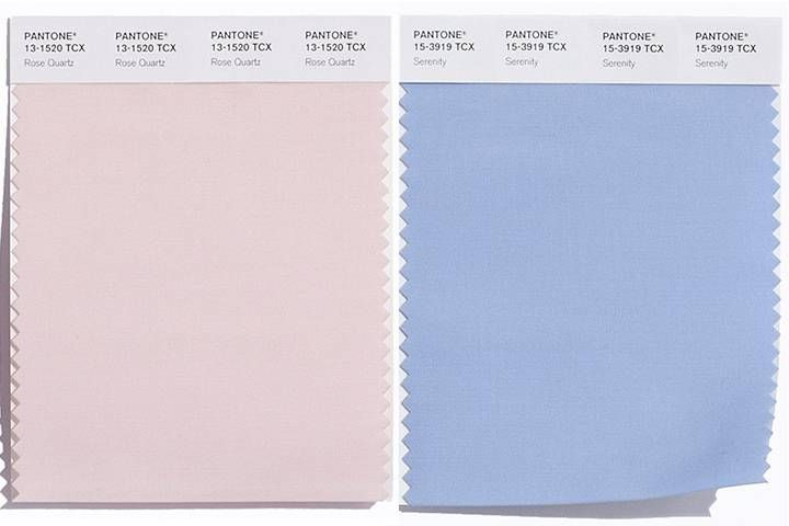 Pantone Picks 2 Colours Of The Year For 2016 Light Pink And Blue Pantone Pantone Color Pantone Colors 2016
