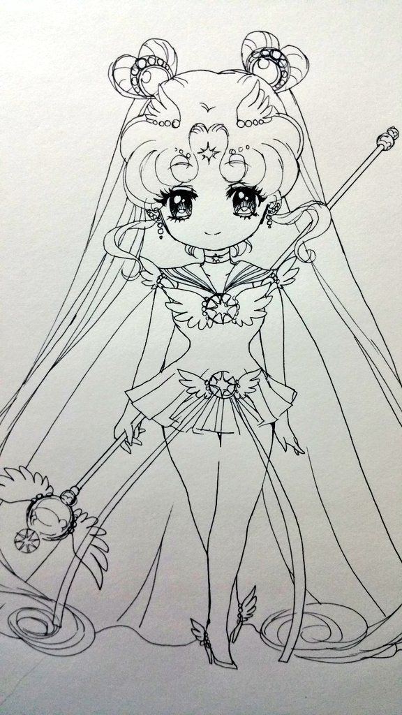 Sailor Cosmos   art   Pinterest   Sailoor moon, Dibujos de sailor ...
