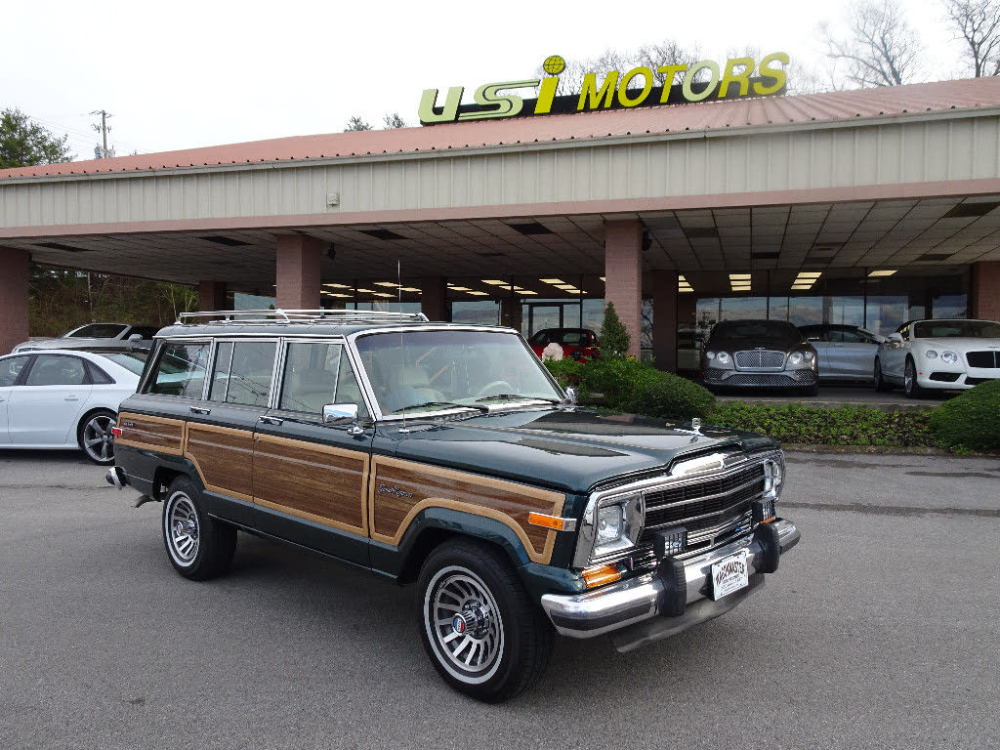 Used Jeep Grand Wagoneer For Sale With Photos Cargurus In 2020 Jeep Grand Used Jeep Jeep