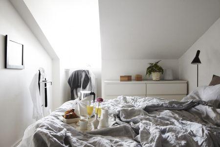 Breakfast in bed | Delikatissen - Un dúplex sencillo con calidades extraordinarias