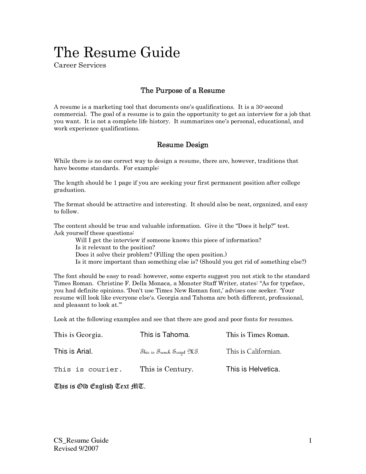 Sample Google Resume Cover Letter Template Samples Doc
