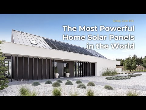 Sunpower Panels Are The Most Powerful Home Solar Panels Sunpower Topped The Game With Their New Powerful Solar Panels For Home Residential Solar Solar Panels