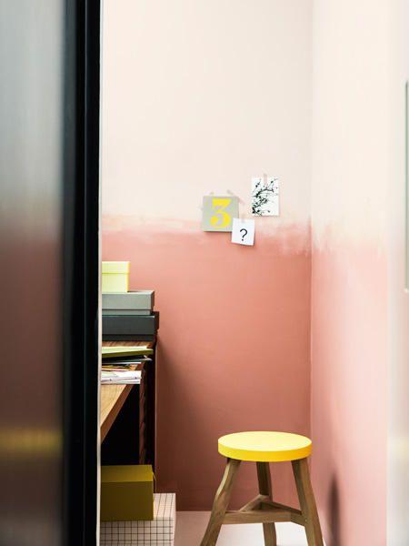 Akzente setzen Kreative Wandgestaltung mit Farben Interiors - wandgestalten mit farbe
