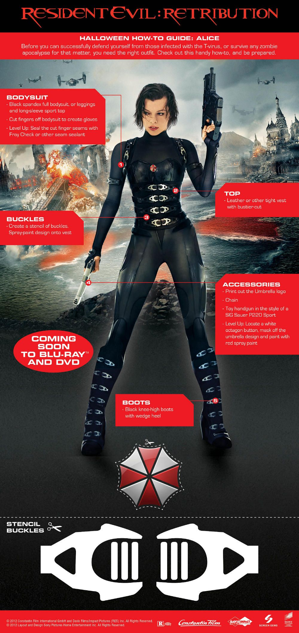 Resident Evil Retribution Alice Costume Keeping This In Mind