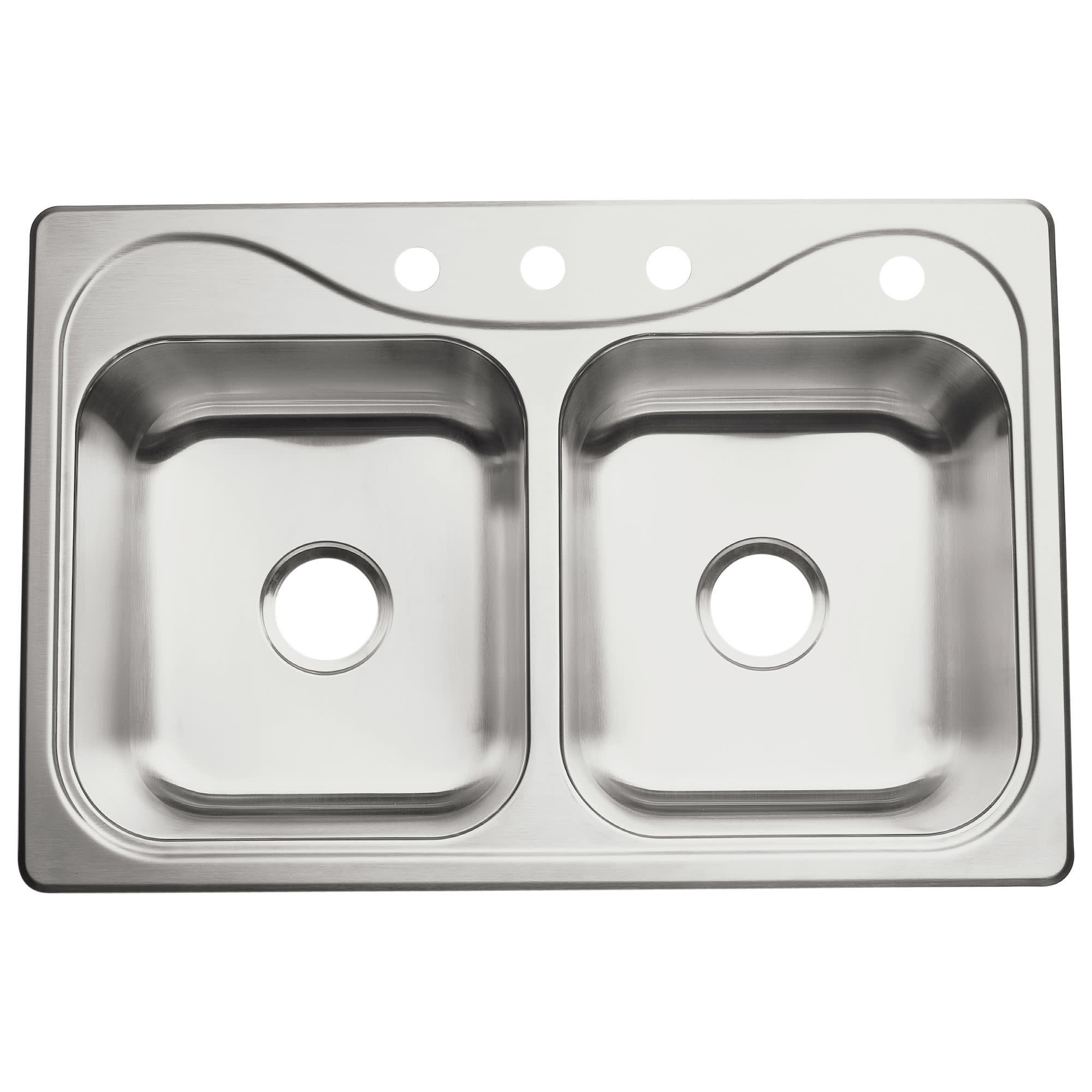 Sterling 11401 4 Southhaven 33 Double Basin Drop In Stainless