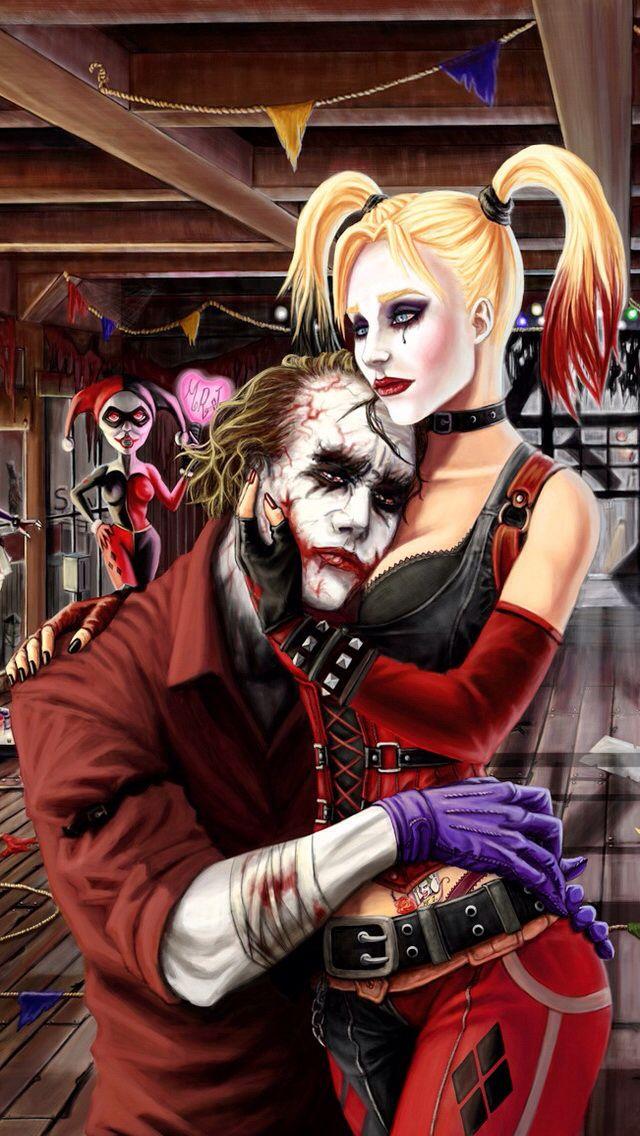 Pin On Harley Joker Mad Love