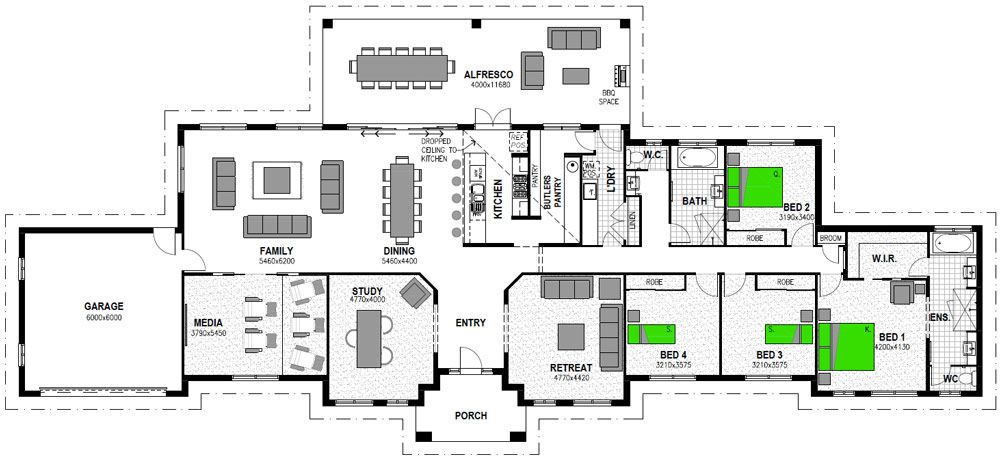 Hudson 378 Luxury Acreage Home Design Stroud Homes House Layout Plans Home Design Floor Plans Stroud Homes