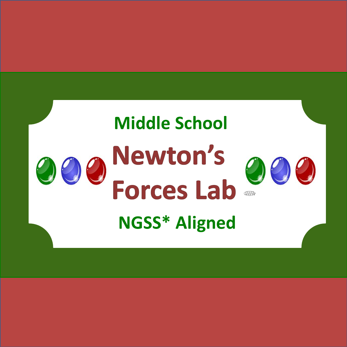 Newton S Three Laws Of Motion Lab Middle School Ngss
