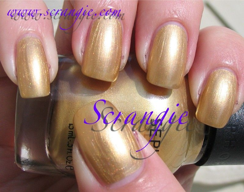 Sephora by OPI Charge It. Metallic gold. This one is pretty similar ...