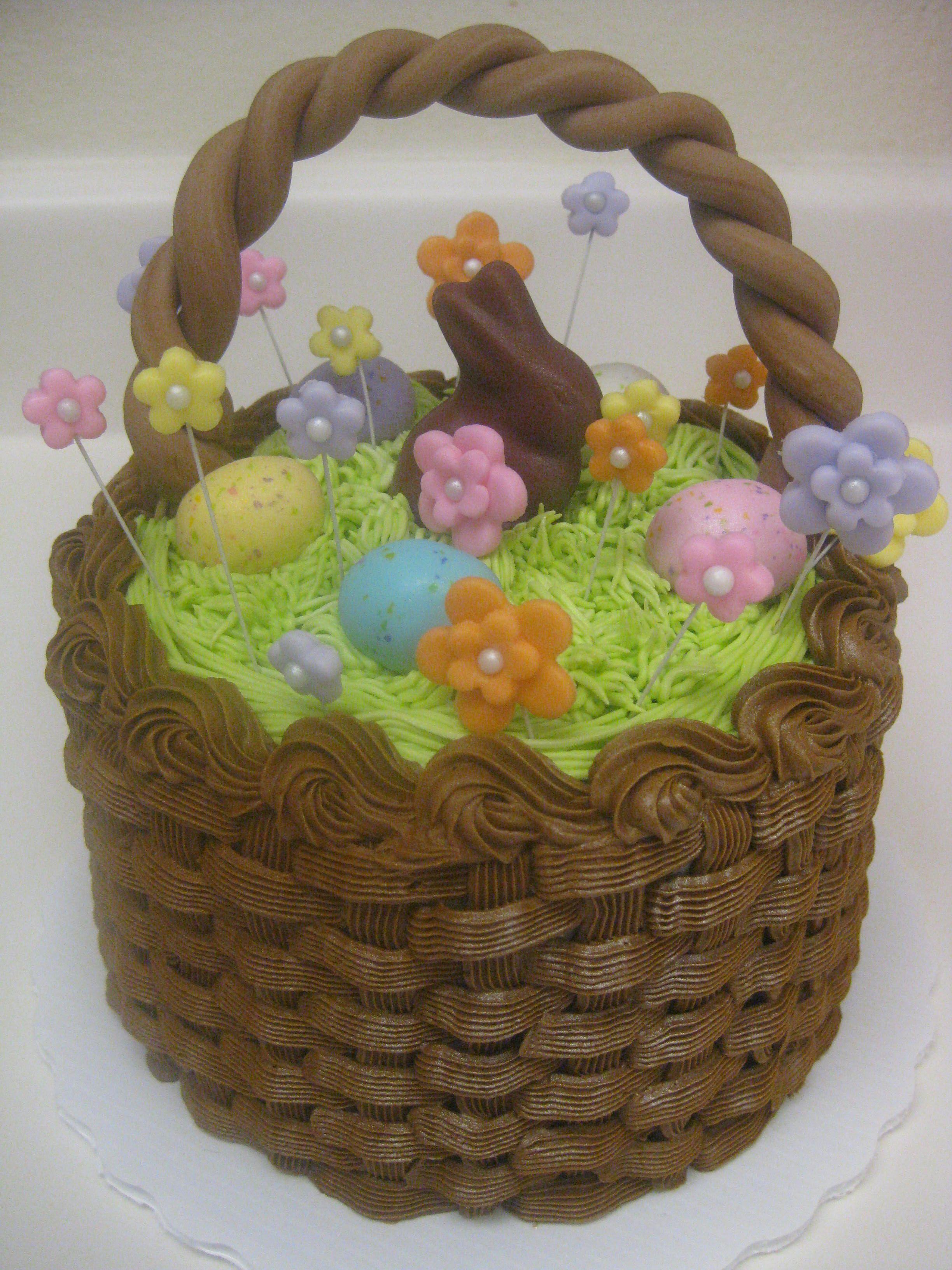 Easter Basket Cake Gateau De Paques Patisserie De Paques Paques