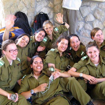 image Israeli jewish girl teases more