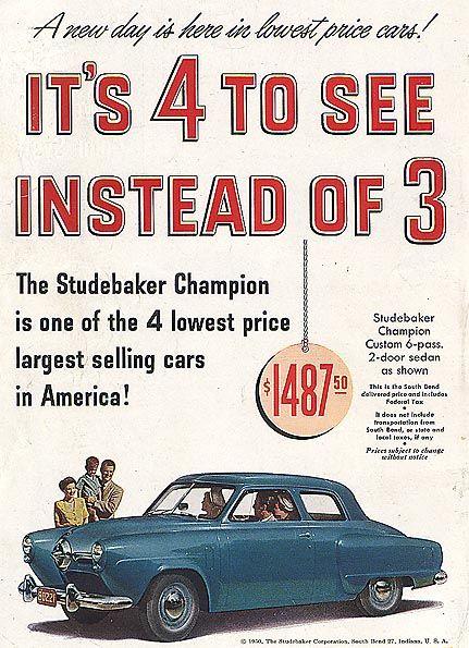 Pin Pa Studebaker Car Brochures