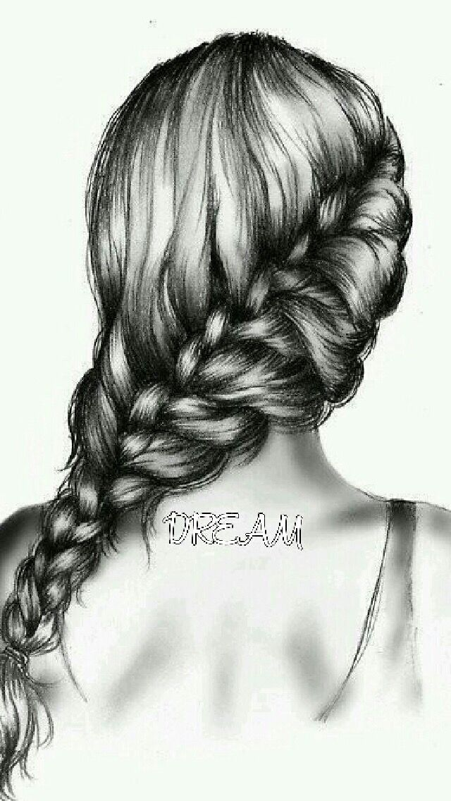 Drawing Hair Is One Of The Important Step In Pencil Portraits Drawings Looks Attractive When It Crafted A Perfect Way