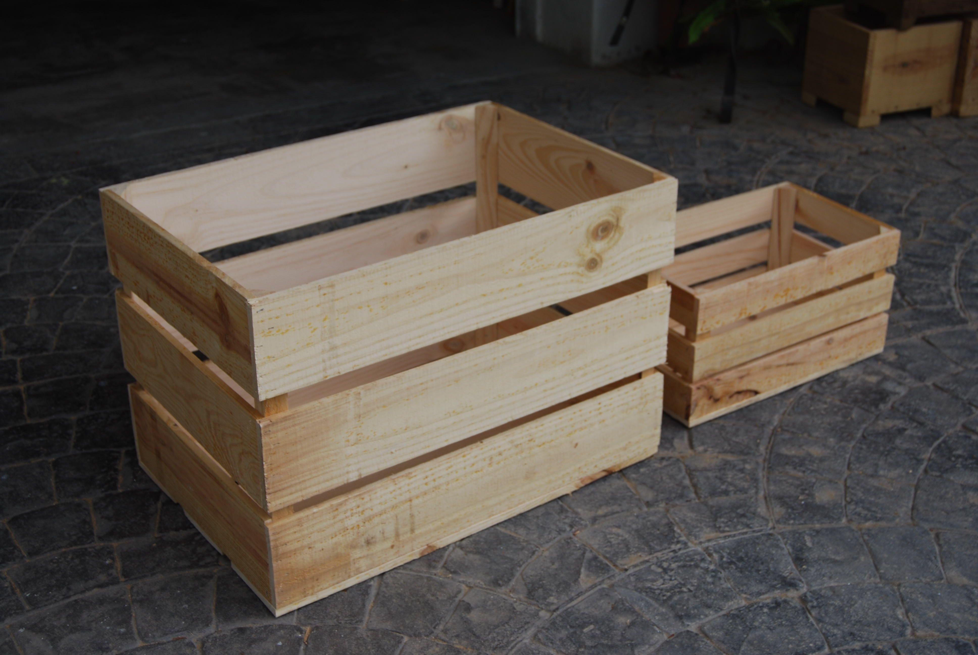 Cajas de diferentes tama os madera artesanal design - Cajas de madera decoracion ...