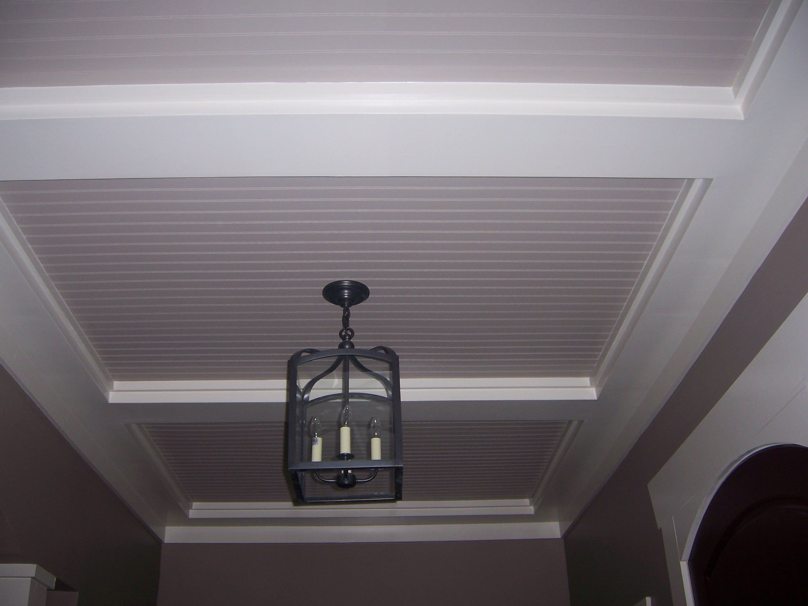 Beadboard Ceilings Are Traditionally A Coastal Design