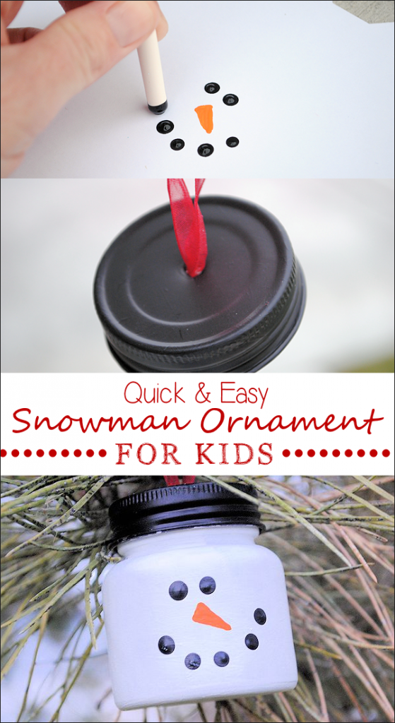 Easy Snowman Ornaments for Christmas could