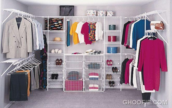 Small Walk In Wardrobe Ideas. How To Design Walk In Closet Home ...