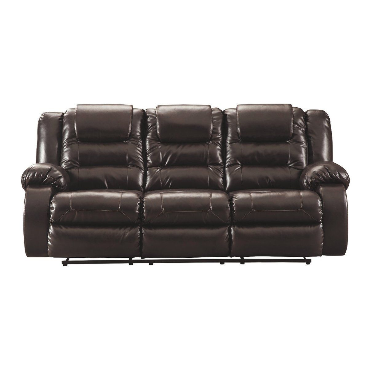 Wondrous Signature Design By Ashley Vacherie Chocolate Reclining Sofa Gmtry Best Dining Table And Chair Ideas Images Gmtryco