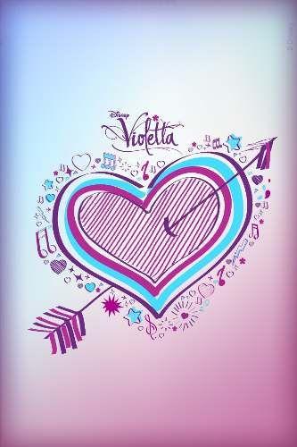 Sublimacionlaminas Violetta Azulejos 450 Cu X 50 Laminas En Mercadolibre Argentina Violetta Disney Disney Martina Stoessel