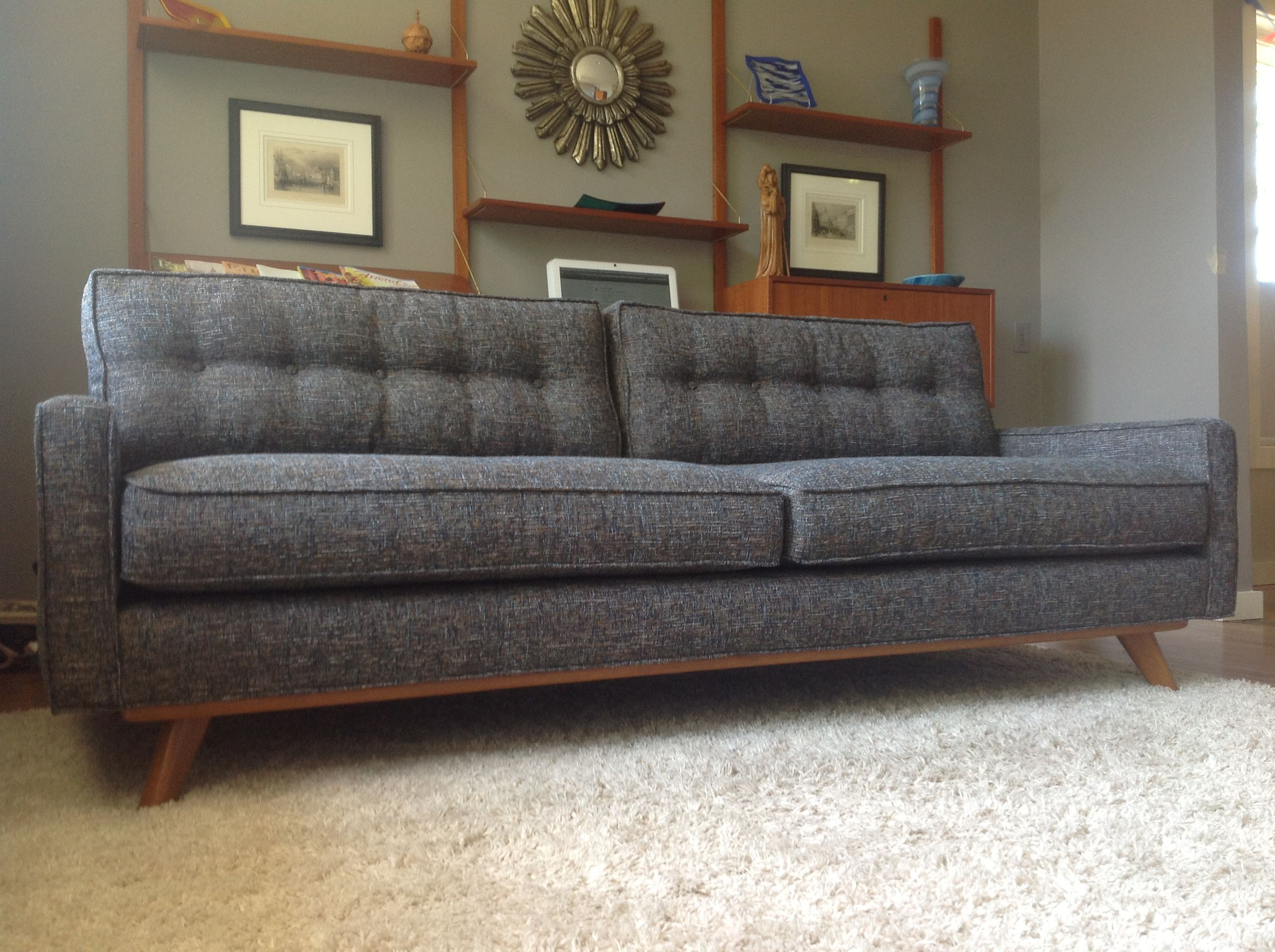 Taylor Sofa in Cordova Eclipse fabric from thrivefurniture