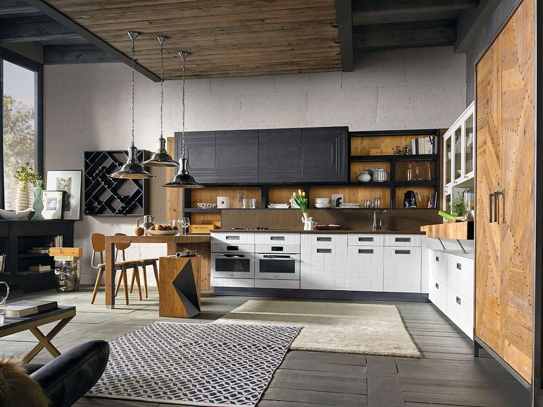Marchi Group Cuisine. Beautiful Modular Exclusive Kitchen With ...