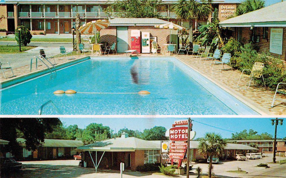 Lileks James Motel Postcards Florida Motel Hotel Florida