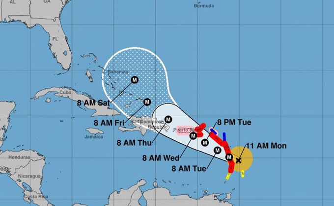 Another Hurricane Set To Hit Already Devastated Cruise Destinations Storm Hurricane Caribbean Islands