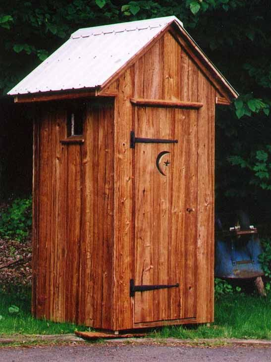 Outhouse The Barnwood Connection Outhouse Built Using