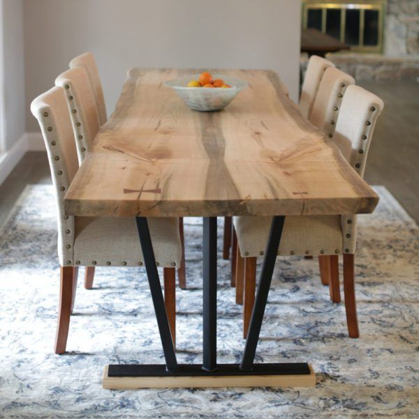 Image Result For One Piece Wood Table Top Dining Set