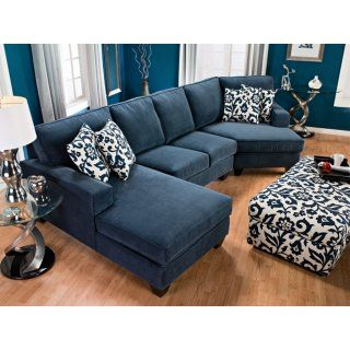 Sofa Sleeper The exact couch we want Living Room Furniture Dax Chenille Sectional with Right Facing Cuddler Indigo
