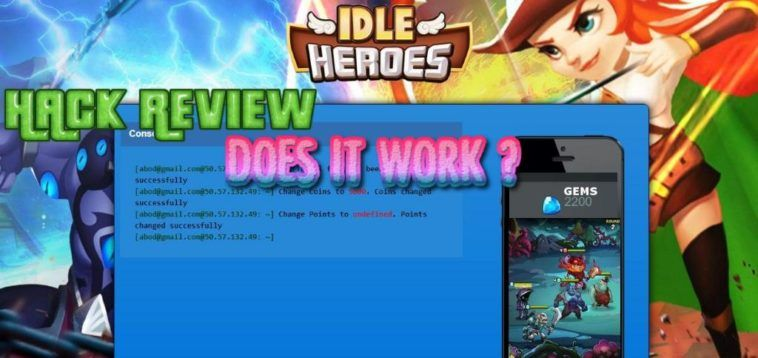 Free Gems No Survey Idle Heroes Idle Heroes Hack Without Human