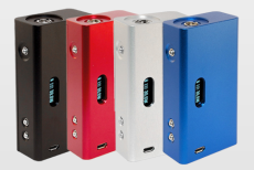 The Cana Modz is a box mod with a Flush 510 connector and Uses a