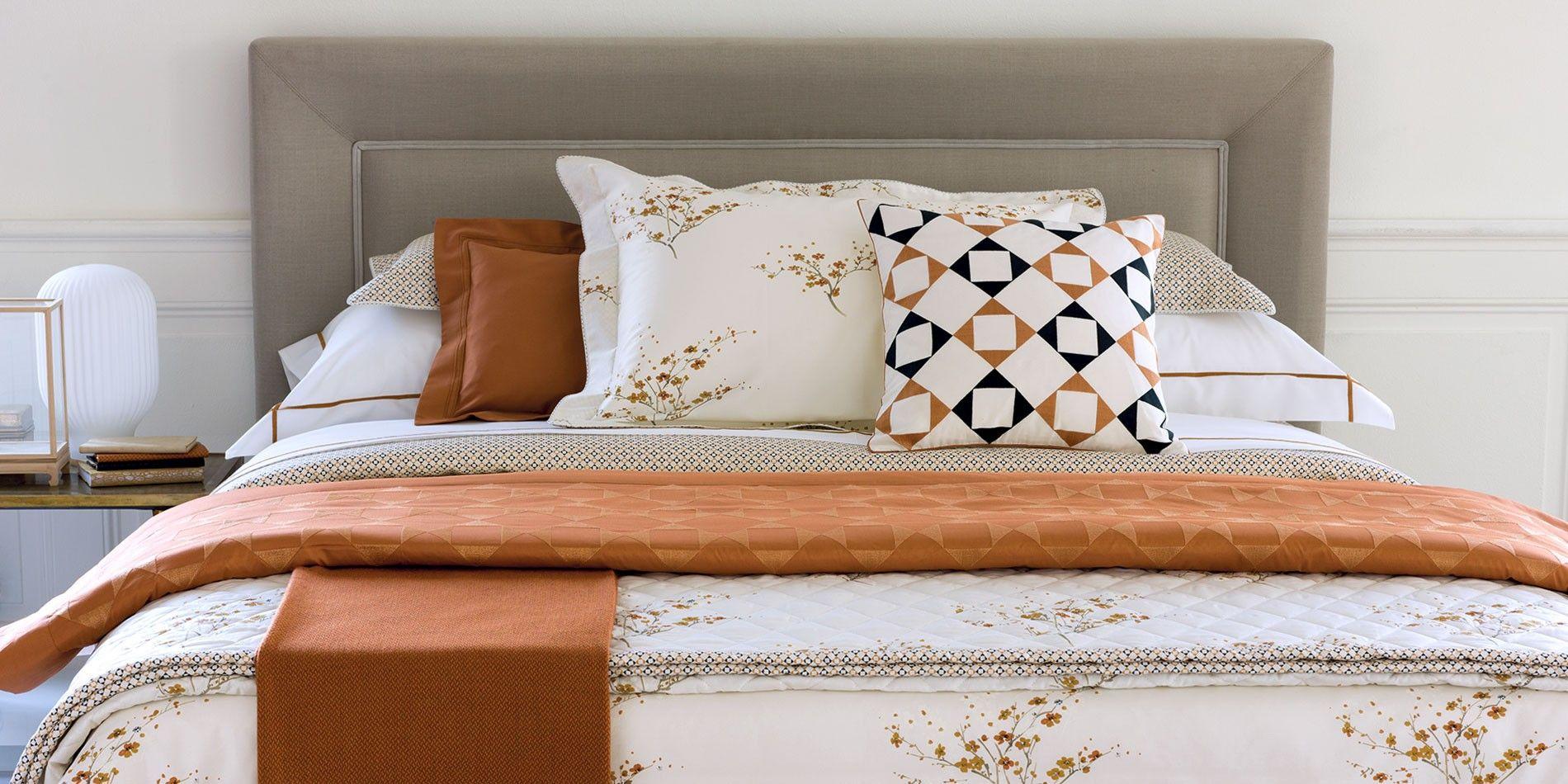 Parure de lit toka do linge de lit parures de lit haut de gamme yves delorm - Linge de lit yves delorme ...