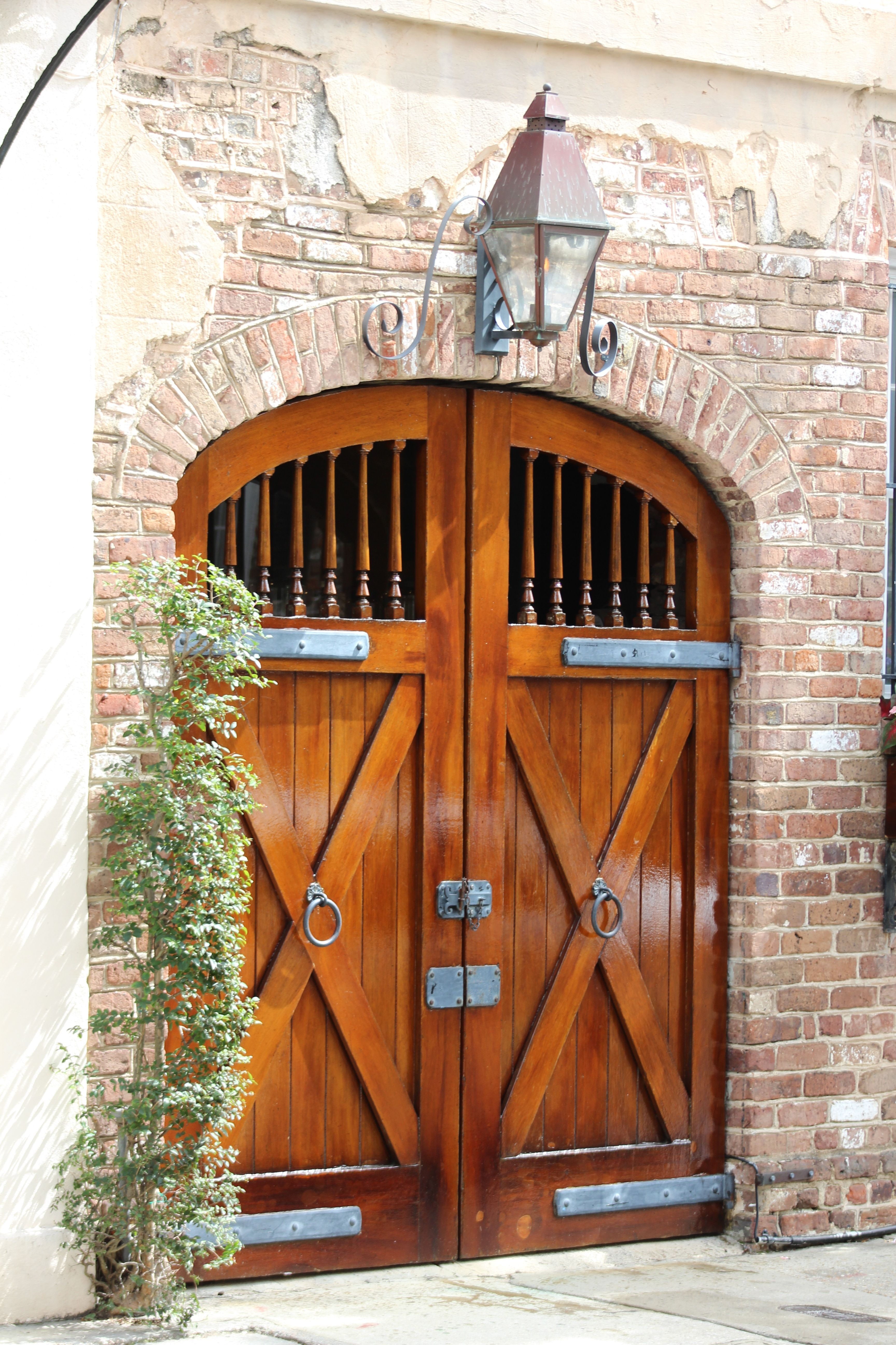 Carriage House doors in Charleston SC