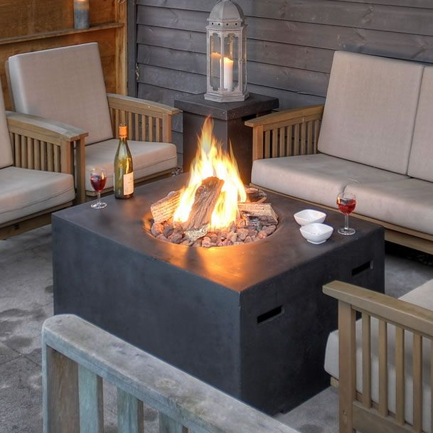 Image 1 Patio Pinterest Gas fire pits, Gas fires and Outdoor
