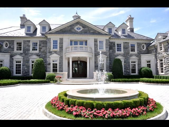 Stone Mansion 1 Frick Drive Alpine N J Stone Mansion Mansions Cool Mansions