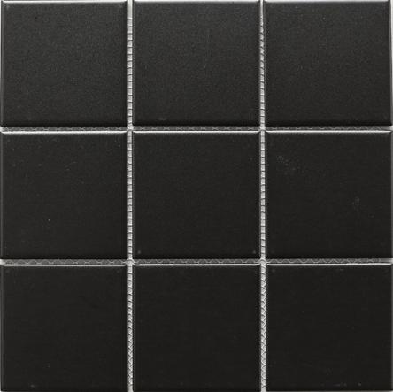 tpmg 14 4x4 square black porcelain