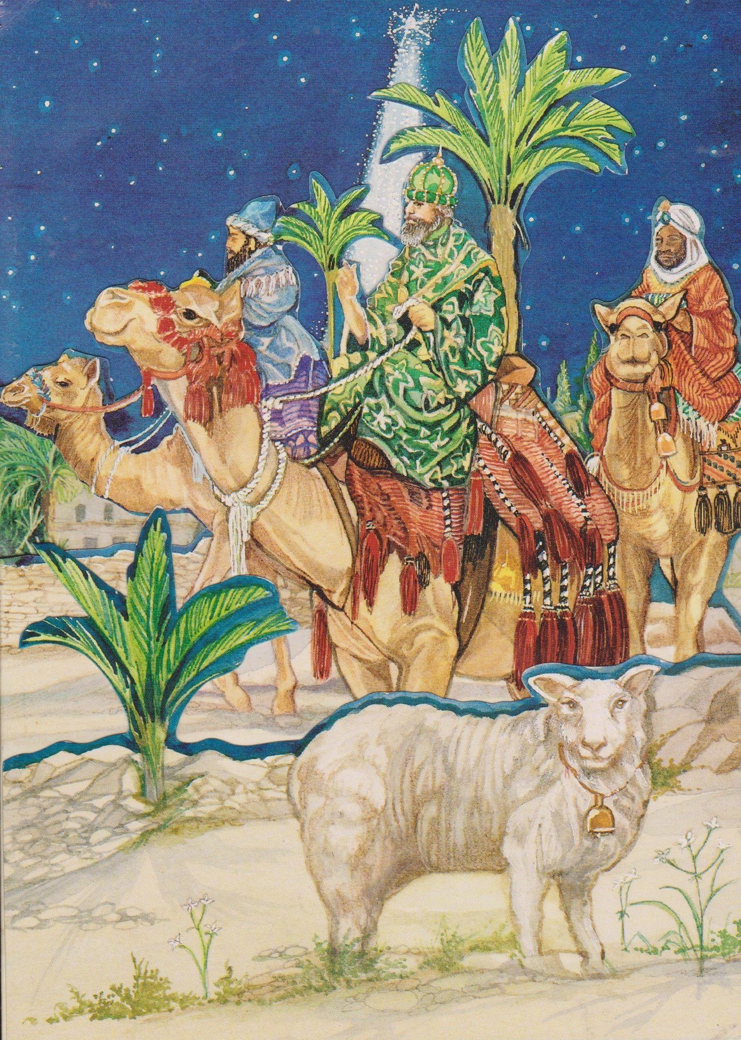 3 wisemen  christmas cards cards zelda characters
