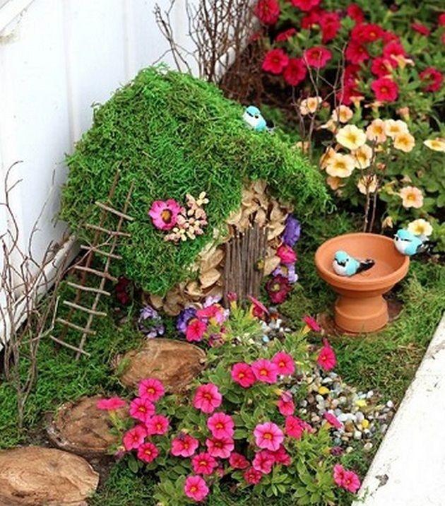 50+ Fairy Garden Ideas | Garden ideas, Fairy and Gardens