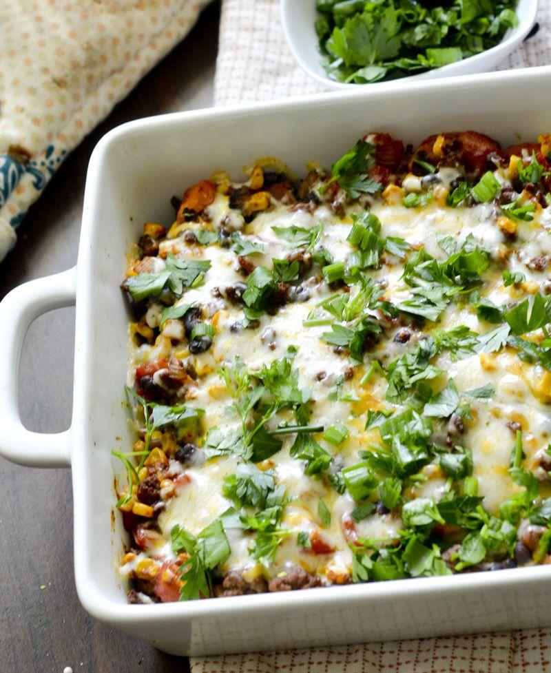 Weight Watchers Mexican Casserole  Recipe  Weight -6046