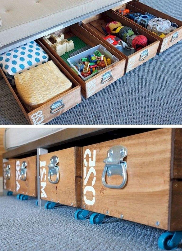 70 Inspiring Under Bed Storage Ideas For Bedrooms Diy Furniture Easy Diy Furniture Hacks Bed Storage