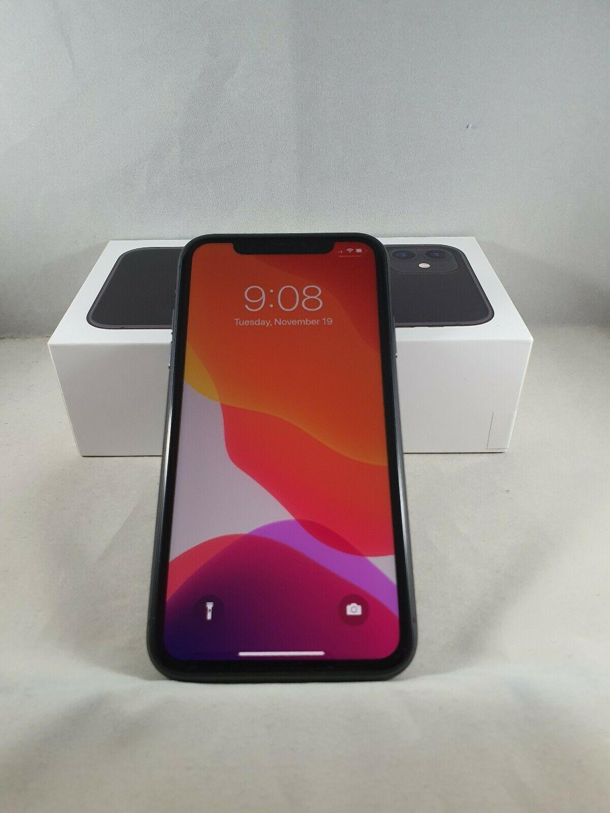Apple iphone 11 128gb black unlocked a2111 cdma